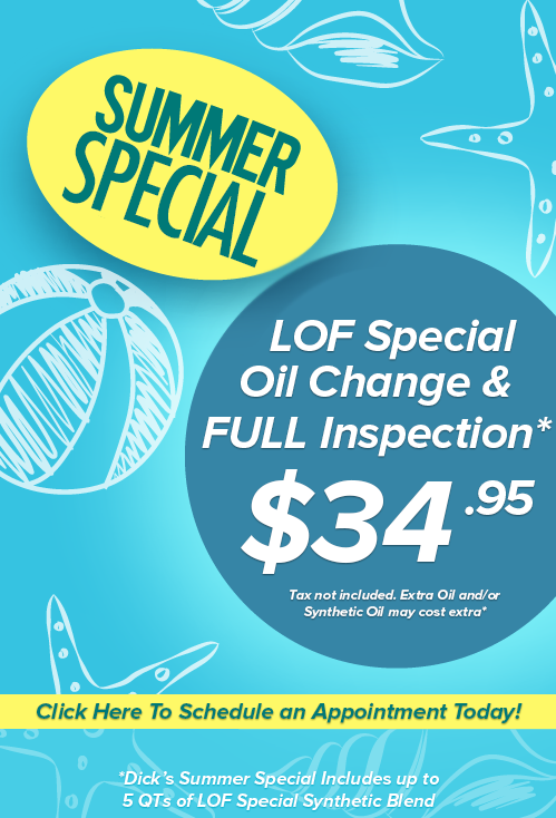 summer special oil change clovis ca